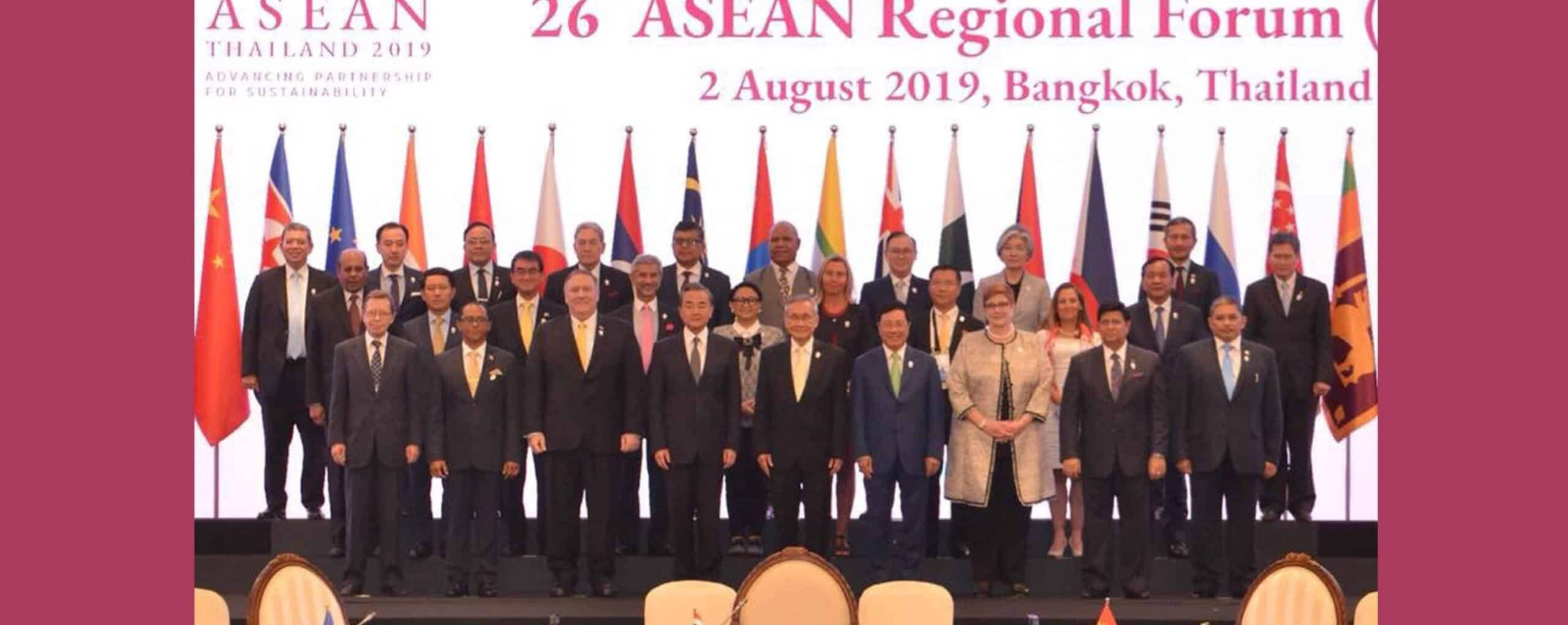 H.E. Foreign Minister Dr. A.K. Abdul Momen sought support and cooperation from ASEAN Regional Forum Partners so that the Rohingyas can return to their homeland in safety and security